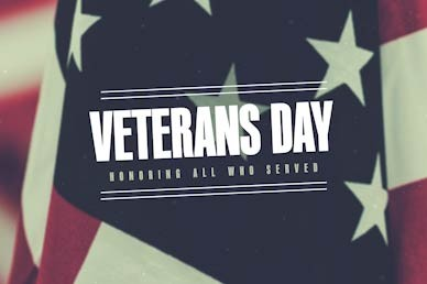 Veterans Day Honor Church Motion Graphic