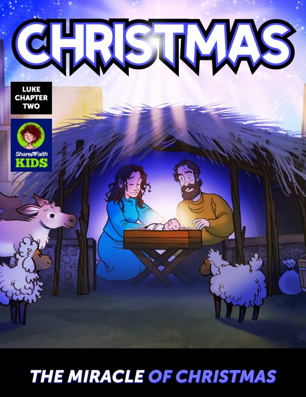 Luke 2 The Miracle of Christmas Digital Comic