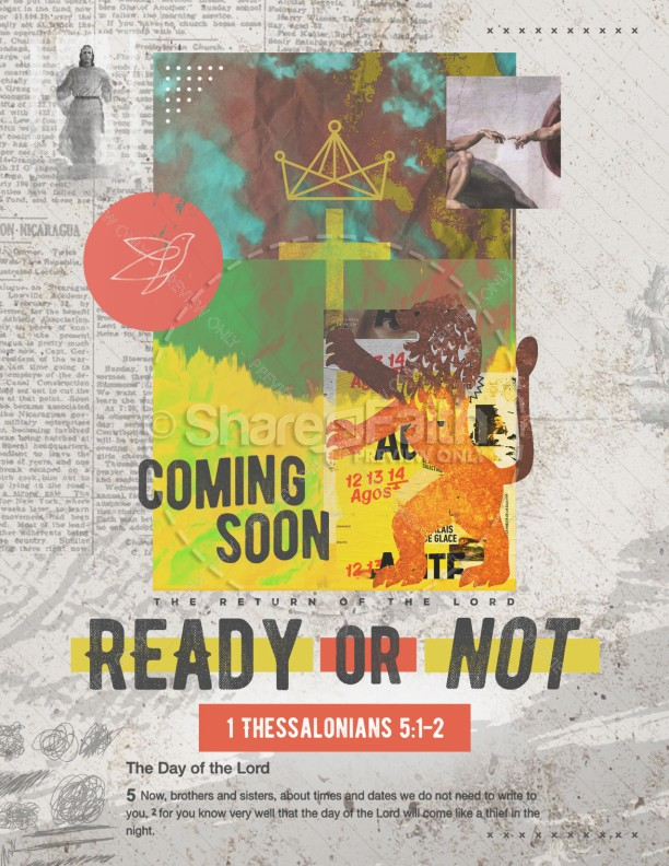 Ready Or Not Church Flyer | page 1
