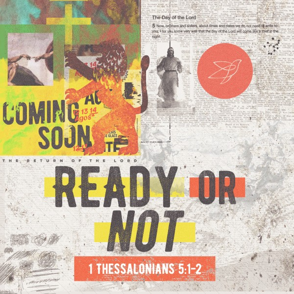 Ready Or Not Church Social Media Graphic