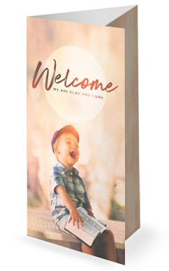 Faith Like A Child Trifold Bulletin