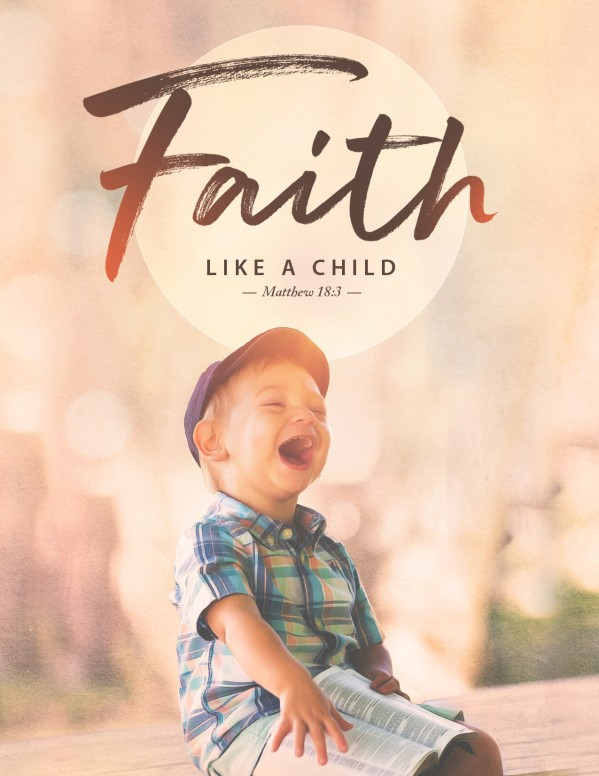 Faith Like A Child Church Flyer