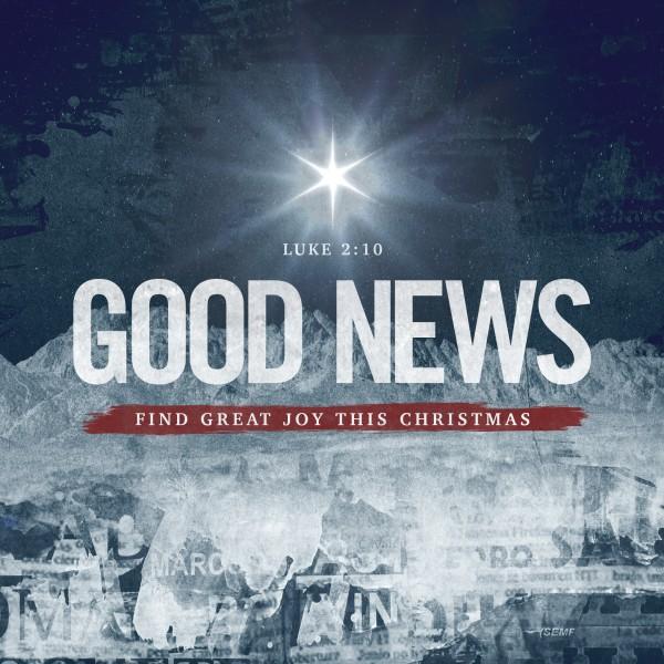 Good News Church Social Media Graphic
