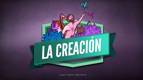SPANISH The Creation Story Sunday School Kids Bible Video