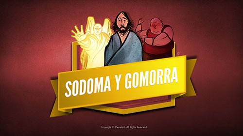 SPANISH The Story Of Sodom and Gomorrah Bible Video For Kids