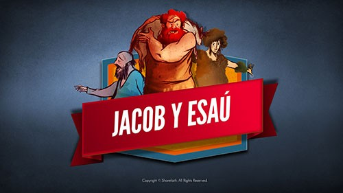 SPANISH Story Jacob and Esau Kids Bible Video