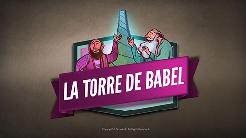 SPANISH Tower of Babel Bible Story For Kids Video