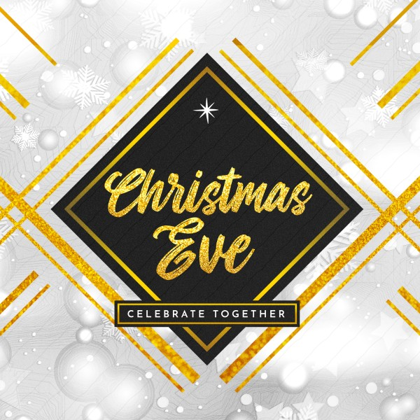 Christmas Eve Celebrate Together Social Media Graphic