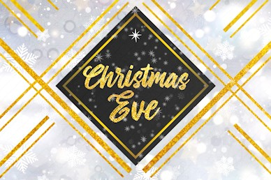 Christmas Eve Celebrate Together Church Motion Graphic