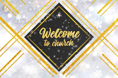 Christmas Eve Welcome To Church Motion Graphic