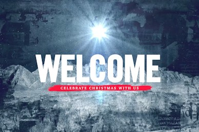 Good News Welcome Church Motion Graphic