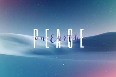 Peace On Earth Church Motion Graphic