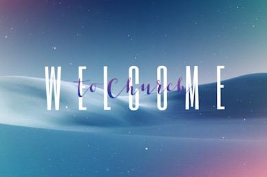 Peace On Earth Welcome Church Motion Graphic