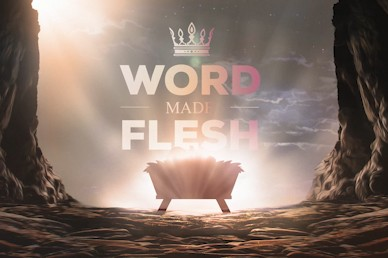 Word Made Flesh Church Motion Graphic