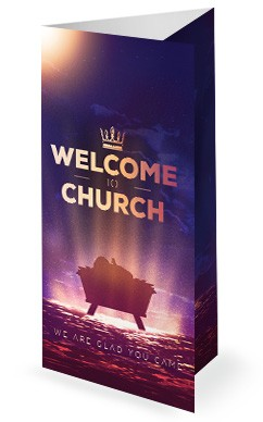 Word Made Flesh Church Trifold Bulletin