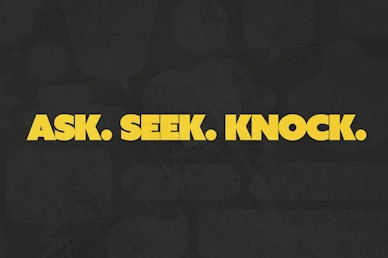 Ask Seek Knock Church Video