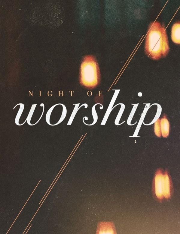 Worship Church Service Flyer