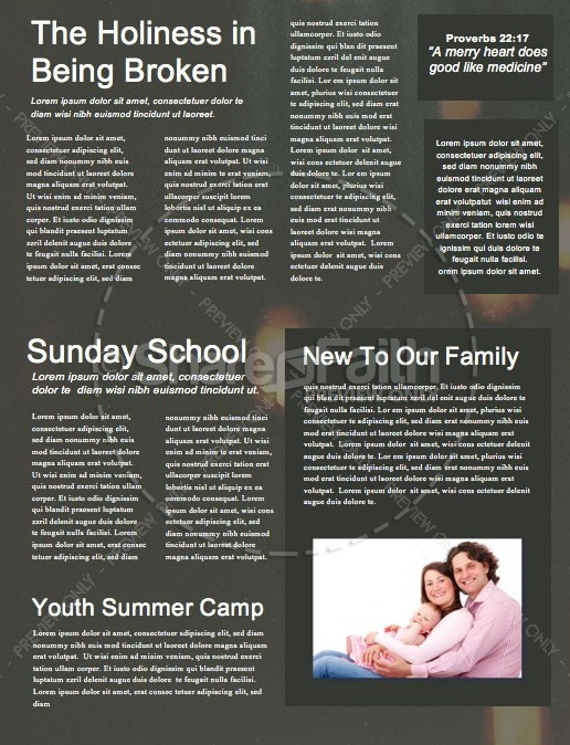 Worship Church Newsletter