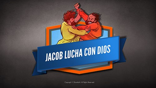 SPANISH Jacob Wrestles With God Bible Story Video For Kids