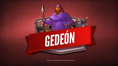 SPANISH Judges 6 Gideon and the 300 Men Bible Video For Kids