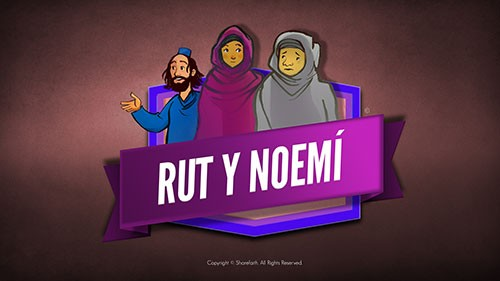 SPANISH Ruth and Naomi Bible Video For Kids