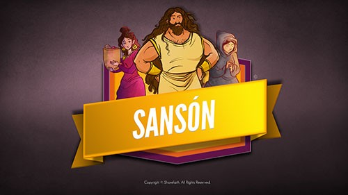 SPANISH Samson and Delilah Bible Video For Kids