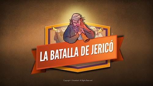 SPANISH The Battle of Jericho Bible Video For Kids