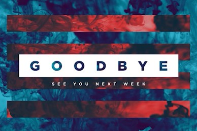 Best Year Ever Goodbye Church Motion Graphic