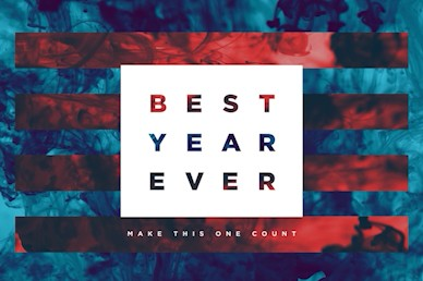 Best Year Ever Title Church Motion Graphic