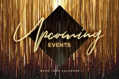 New Year Upcoming Events Church Motion Graphic