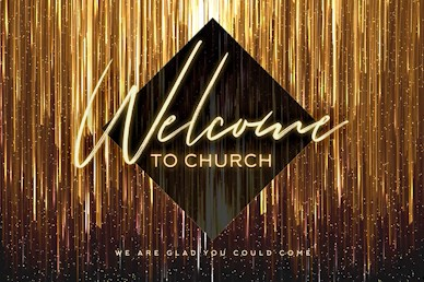 New Year Welcome Church Motion Graphic