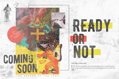 Ready Or Not Title Church Motion Graphic