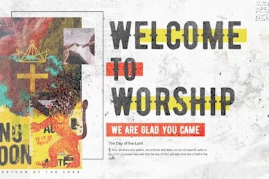 Ready Or Not Welcome Church Motion Graphic