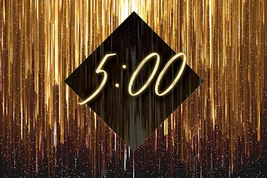 New Year Countdown Church Motion Graphic