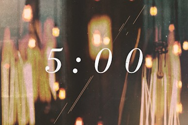 Worship Countdown Motion Graphic