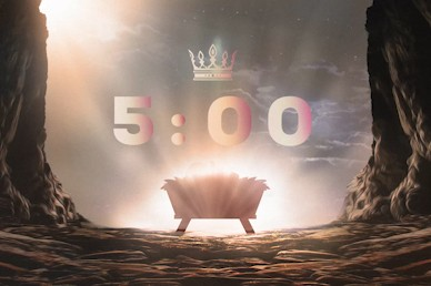 Word Became Flesh Countdown Church Motion Graphic