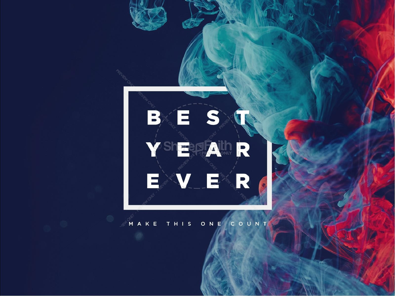 Best Year Ever Church Powerpoint