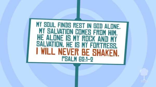 Never Be Shaken Worship Video for Kids