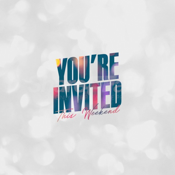 You're Invited Social Media Graphic