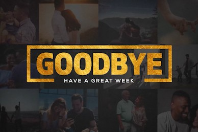 This Is Us Goodbye Church Motion Graphic