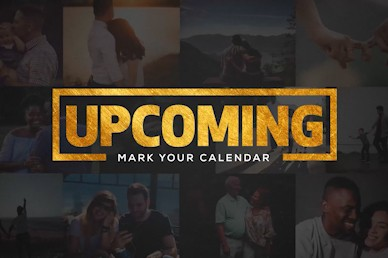 This Is Us Upcoming Events Church Motion Graphic