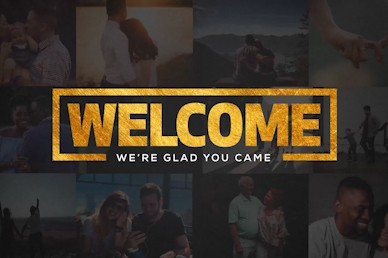This Is Us Welcome Church Motion Graphic