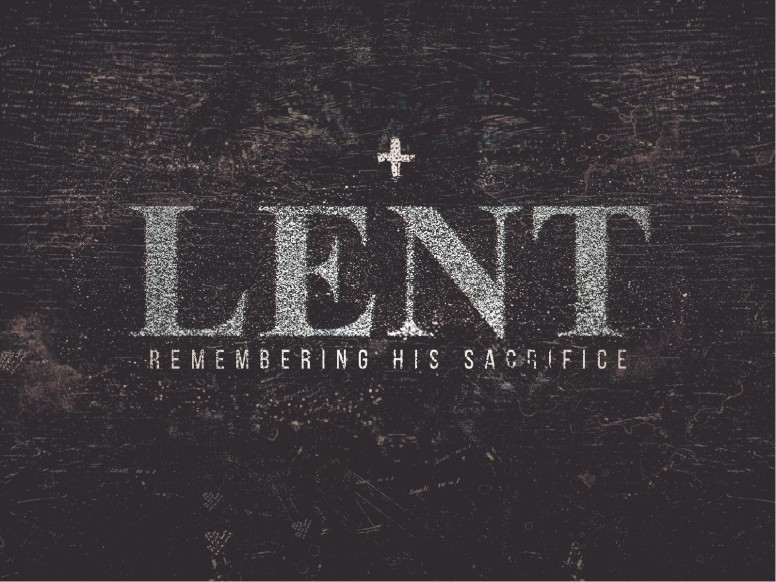 Lent Powerpoint Church Graphic