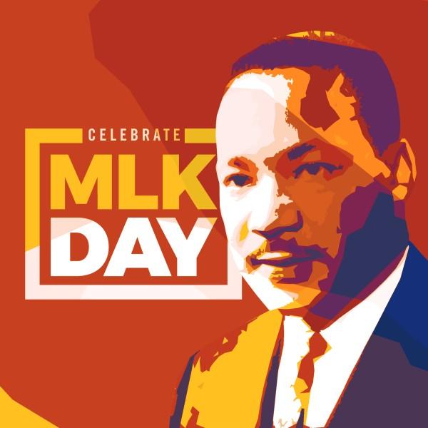 Celebrate MLK Church Social Media Graphic
