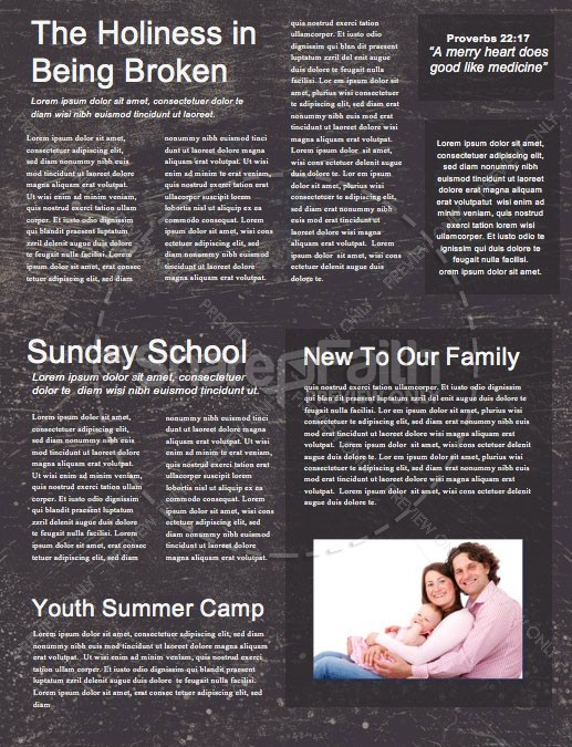 Lent Church Newsletter | page 2