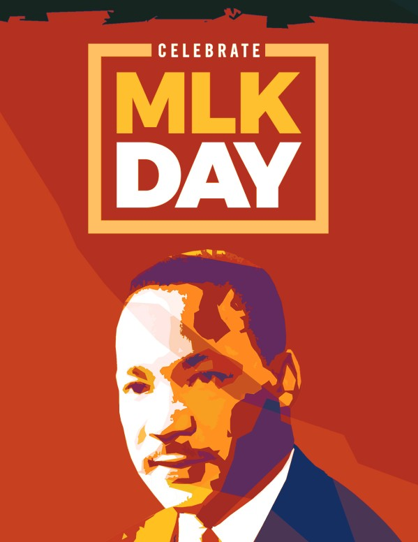 Celebrate MLK Day Church Flyer