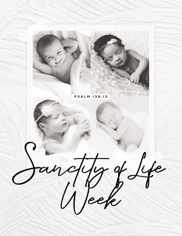 Sanctity of Life Church Flyer