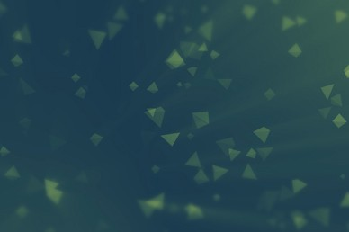Worship Triangles Turquoise Green Gradient Video Loop