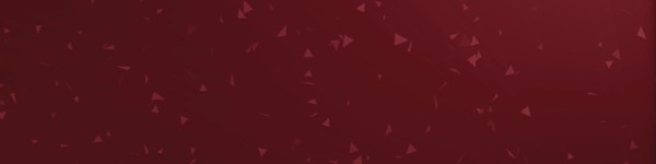 Worship Triangles Crimson Red Triple Wide
