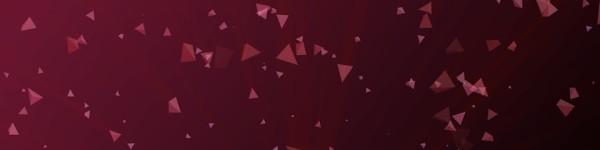 Worship Triangles Maroon Gradient Triple Wide